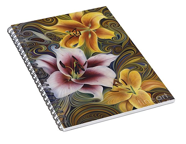Dynamic Triad Spiral Notebook