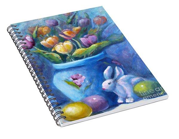 Easter Still Life Spiral Notebook