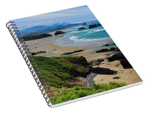 Ecola State Park Beach Spiral Notebook
