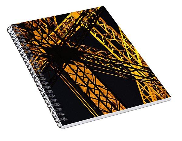 Eiffel Tower Detail Spiral Notebook