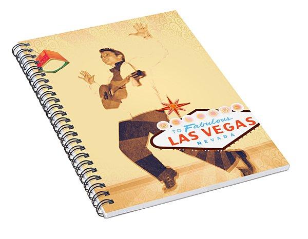 Elvis On Tv Spiral Notebook