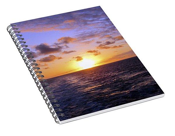 Hawaiian End Of Day Spiral Notebook