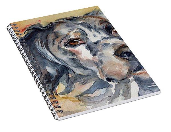 English Setter Portrait Spiral Notebook