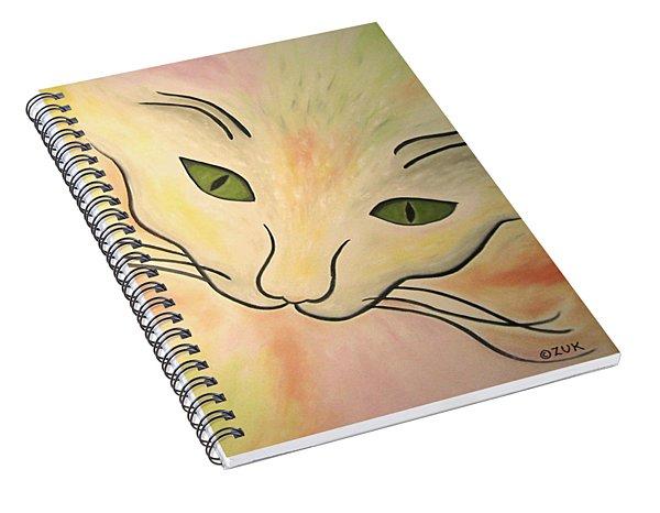 Essence Of Cat Spiral Notebook
