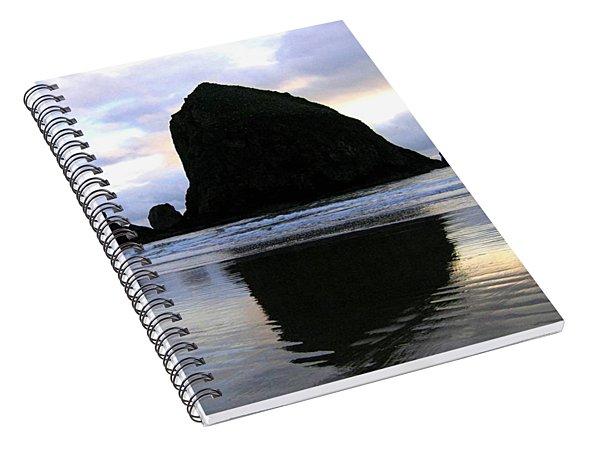 Evening Luster Spiral Notebook