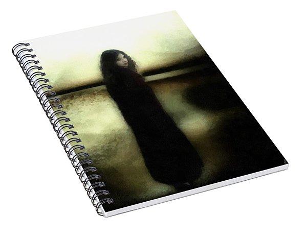 Evening Melancholia Spiral Notebook