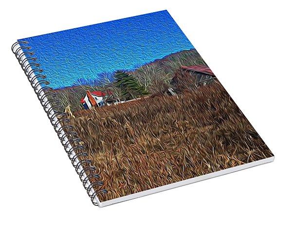 Farm House 2 Spiral Notebook