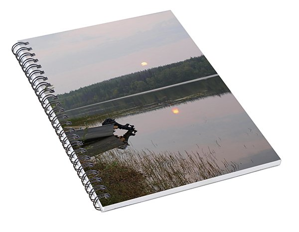 Fishing Tranquility Spiral Notebook
