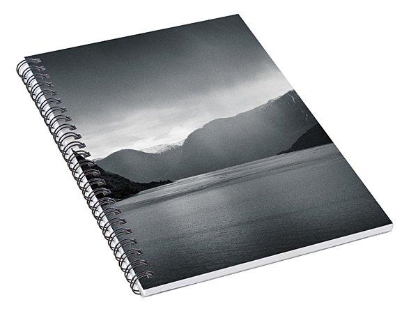 Fjord Rain Spiral Notebook