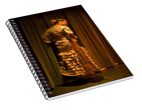 Flamenco Series 14 Spiral Notebook