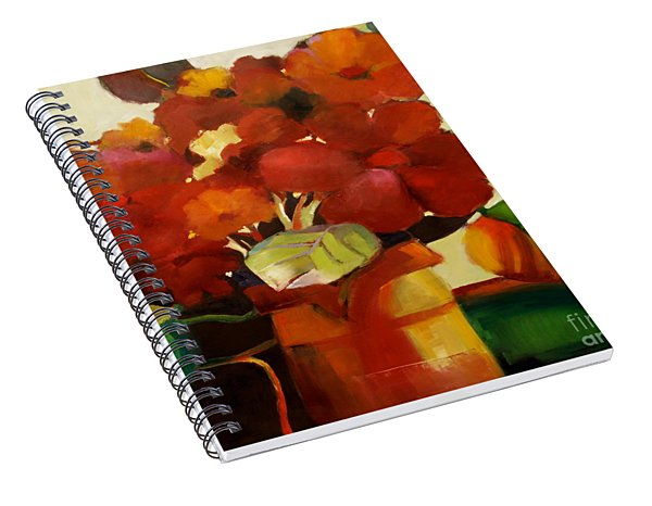 Flower Vase No. 3 Spiral Notebook