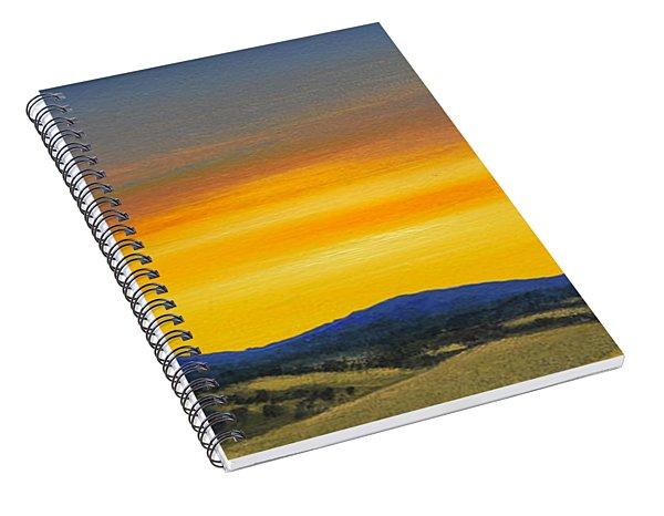 Foothills Sunrise Spiral Notebook