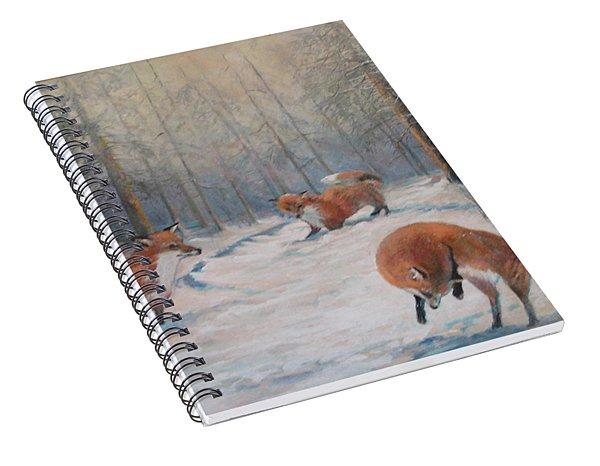 Forest Games Spiral Notebook