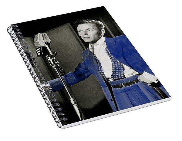 Frank Sinatra - Old Blue Eyes Spiral Notebook