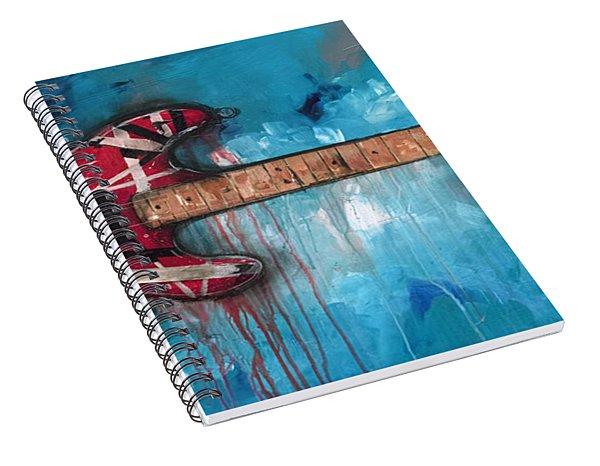 Frankenstrat Spiral Notebook