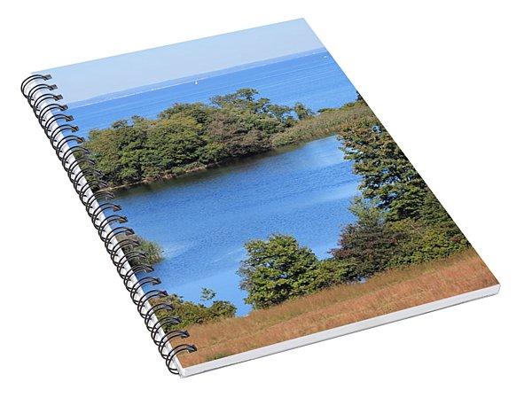 Fresh Pond At Caumsett Spiral Notebook
