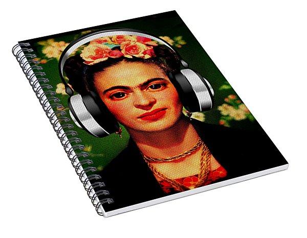 Frida Jams Spiral Notebook