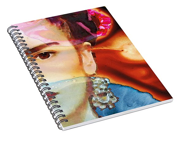 Frida Kahlo Art - Seeing Color Spiral Notebook