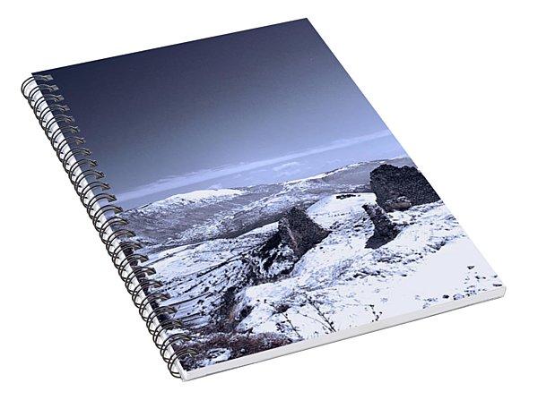 Frozen Landscape Spiral Notebook