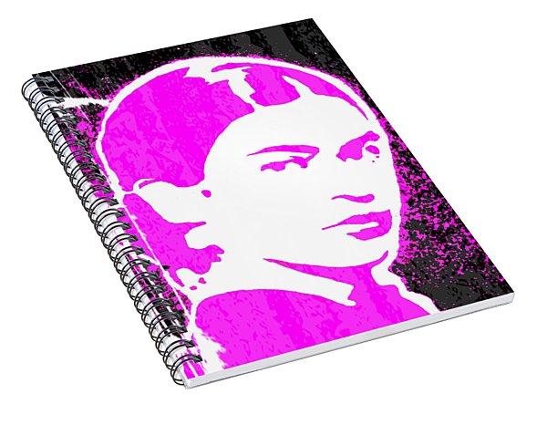 Fuchsia Frida Spiral Notebook