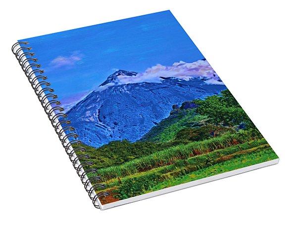 Fuego Volcano Guatamala Spiral Notebook