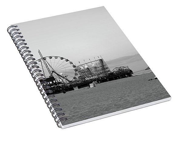 Funtown Pier - Jersey Shore Spiral Notebook