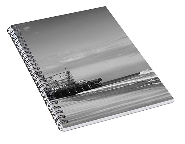 Funtown Pier Seaside Heights New Jersey  Spiral Notebook