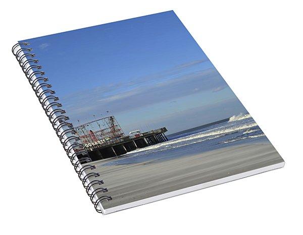 Funtown Pier Seaside Heights Nj Jersey Shore Spiral Notebook
