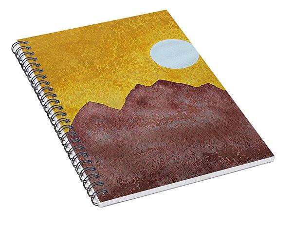 Gallup Original Painting Spiral Notebook