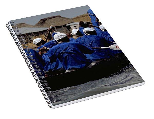 Ganvie - Lake Nokoue Spiral Notebook
