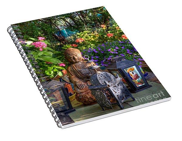Garden Meditation Spiral Notebook