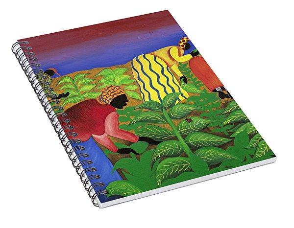 Gathering Precious Waves Spiral Notebook