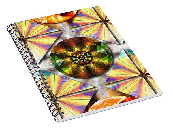 Geometric Dreamland Spiral Notebook