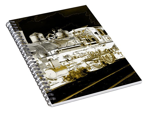 Ghost Train Spiral Notebook