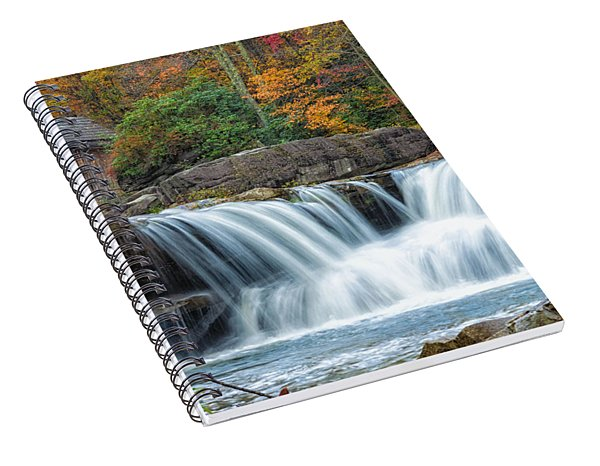 Glade Creek Grist Mill And Waterfalls Spiral Notebook