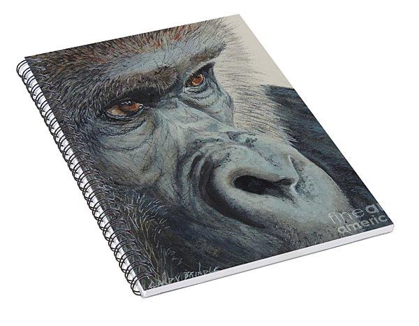 Going Ape...sold  Spiral Notebook