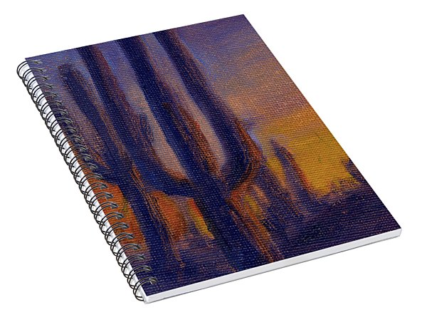 Golden Hours 2 Spiral Notebook