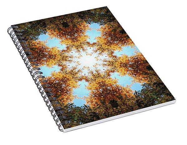 Golden Shimmer K2 Spiral Notebook