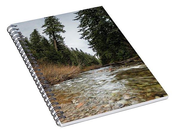 Hackleman Creek  Spiral Notebook