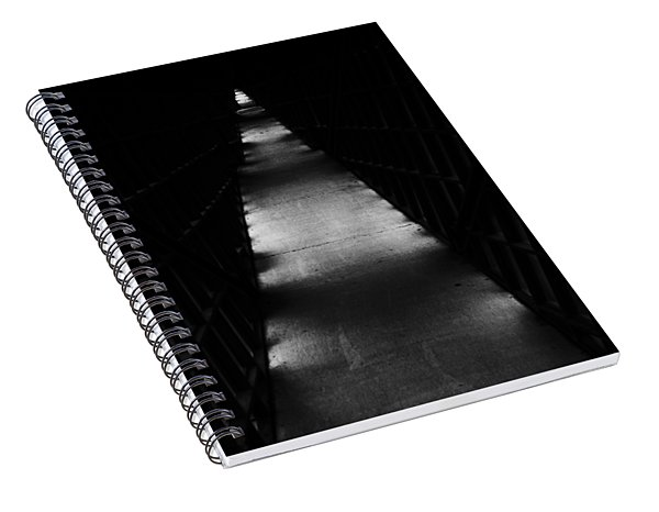 Hallway To Nowhere Spiral Notebook