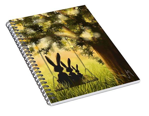 Happily Together Spiral Notebook