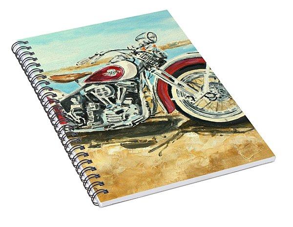 Harley Davidson 1960 Spiral Notebook