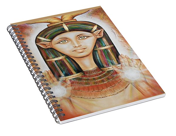 Hathor Rendition Spiral Notebook