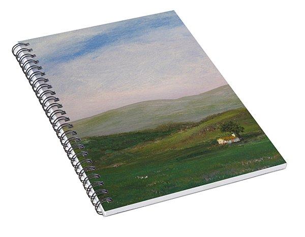 Hills Of Ireland Spiral Notebook