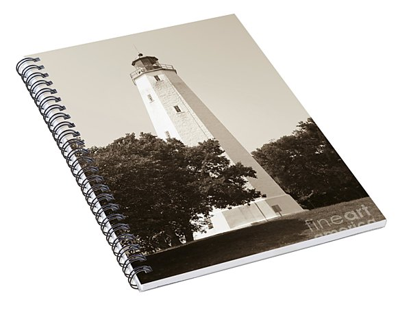 Historic Sandy Hook Lighthouse Spiral Notebook