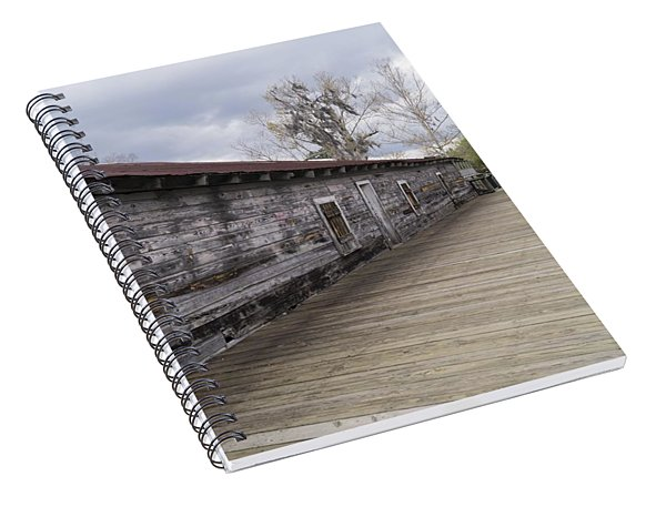 Historic Steamer Terminal On The Waccamaw River Spiral Notebook