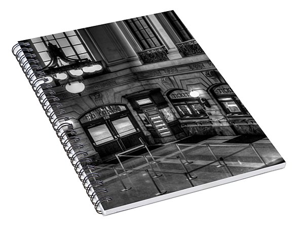 Hoboken Terminal Waiting Room Spiral Notebook