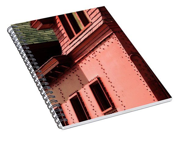 Holland Harbor Light Detail Spiral Notebook