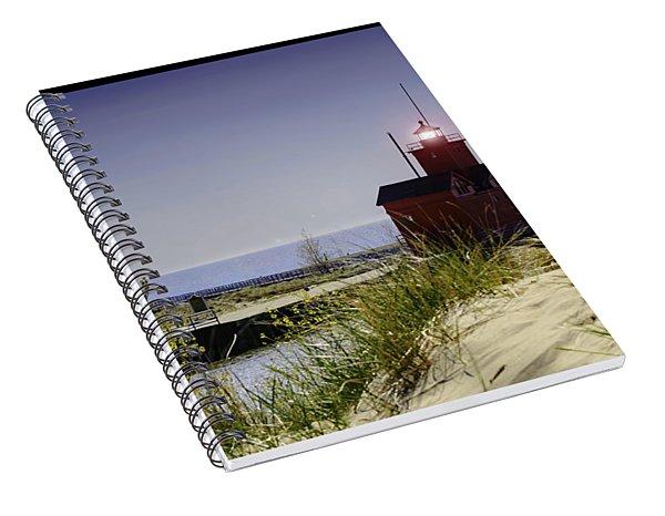Holland Harbor Light  Spiral Notebook