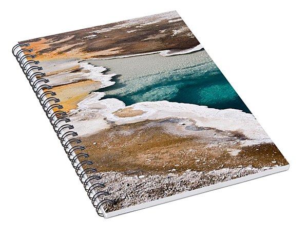 Hot Spring  Spiral Notebook